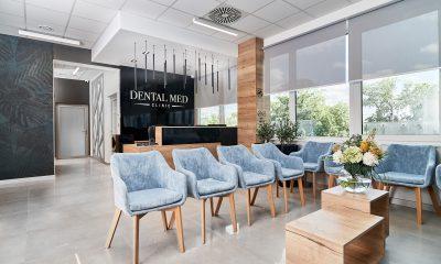 klinika stomatologiczna, aranżacja kliniki stomatologicznej